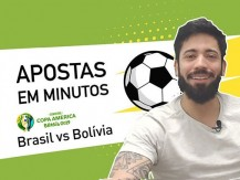 Encontrar aposta de valor num jogo com super-favorito | Brasil v Bolívia da Copa América (vídeo)