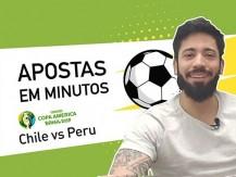 Equipe ofensiva contra equipe defensiva | Chile vs Peru da Copa América (vídeo)