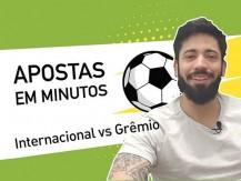Internacional vs Grêmio | Aposta no primeiro Gre-Nal do Brasileirão 2019 (vídeo)