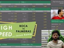 Apostas em minutos - previsão para Boca Juniors vs Palmeiras (vídeo)