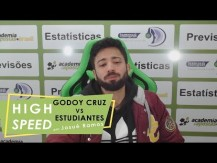 Apostas em minutos - previsão para Godoy Cruz vs Estudiantes (campeonato argentino) (vídeo)