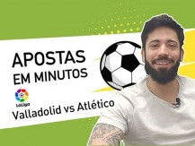 Valladolid vs Atlético de Madrid – Espanha Primeira Divisão – rodada 8 (vídeo)