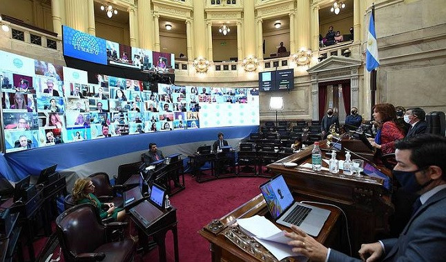 Online betting enters agenda in the Argentine Senate