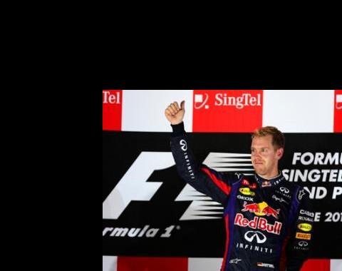 Apostas F1: Vettel domina em Singapura e está já a [1.01] para ser Campeão Mundial