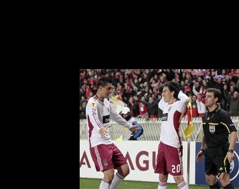Liga Europa: Benfica quer marcar golos para selar qualificação