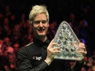 Snooker: Robertson defende o título no Betfair Masters