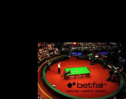 """Campeonato Mundial de Snooker terá a """"marca"""" Betfair!"""