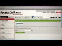 ApostasOnline [Episódio 2] - Criando a sua conta e primeiro depósito