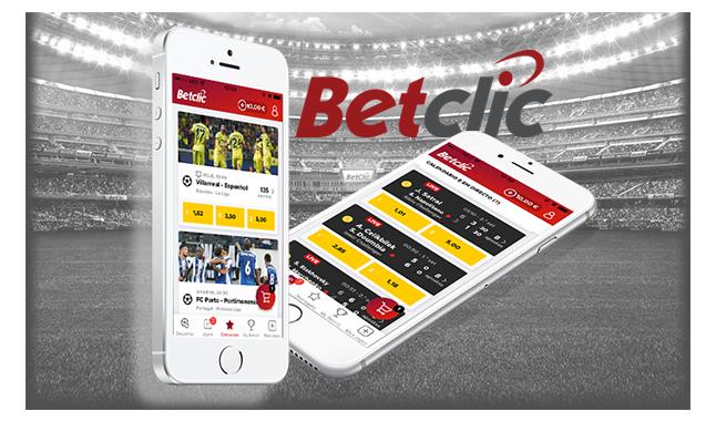 A nova app Betclic para iOS
