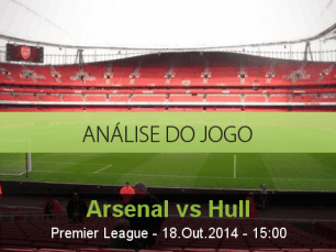 Análise do jogo: Arsenal vs Hull City (18 Outubro 2014)