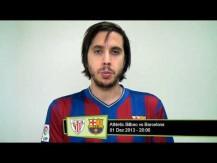 Athletic Bilbao Vs Barcelona - 1.Dez.2013 20h00 - Crónica os melhores jogos para apostar