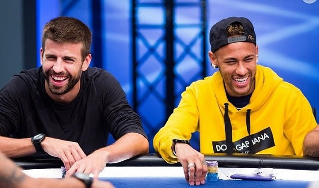 Football athletes in the world of Poker