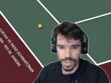 ATP 500 - Rio de Janeiro| Pablo Cuevas vs Diego Schwartzman (vídeo)