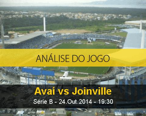 Análise do jogo: Avaí X Joinville (24 Outubro 2014)