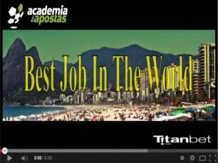 O melhor emprego do Mundo (Mundial 2014 Brasil) - por Hugo Gomes