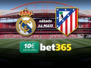 Aposta Grátis de 10€ na Final da Liga dos Campeões entre Real Madrid e Atlético de Madrid