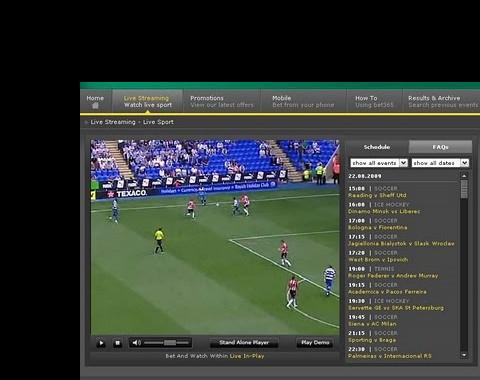 Livestream Real Madrid vs Barcelona e de outros jogos de Março