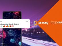 """Prémios EGR: Betano é o """"Operador Móvel do Ano"""""""