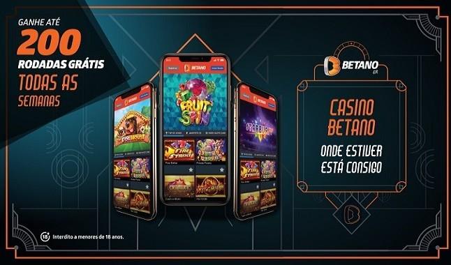 Casino Betano com 200 Rodadas Grátis todas as semanas!