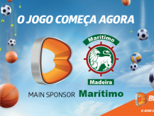 A Betano é o Main Sponsor do CS Marítimo até 2022