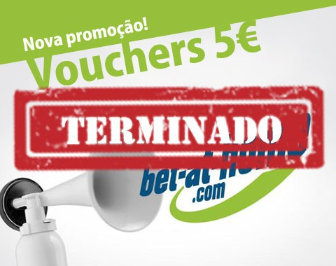 Voucher 5€ bet-at-home - aposta sem depositar - exclusivo Academia