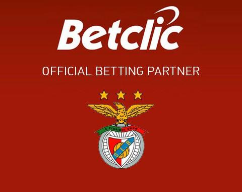 Benfica patrocinado pela Betclic a partir de 2016