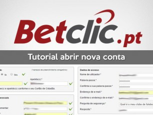 Como abrir conta na Betclic Portugal?