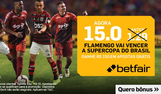 15.0 Flamengo vai vencer a Supercopa do Brasil