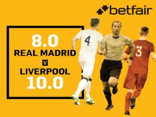 Super cotação no Real Madrid vs Liverpool