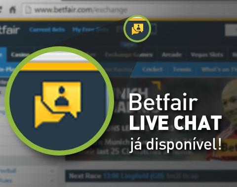 Como aceder ao chat da Betfair - suporte betfair messenger