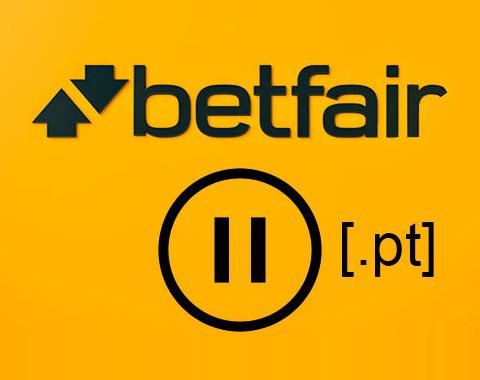 Betfair suspende a atividade em Portugal até ter licença