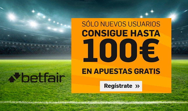 Betfair: Bono de hasta 100€
