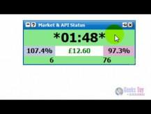 Betfair Trading -- Market & API Status Window (HD)
