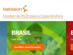 Aposta sem risco para a Copa América