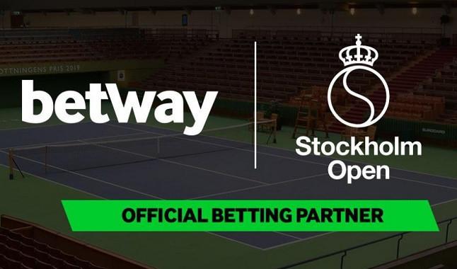 Betway presenta su asociación con el Stockholm Open