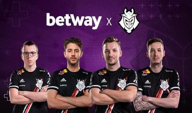 Betway presenta patrocinio con G2 Esports