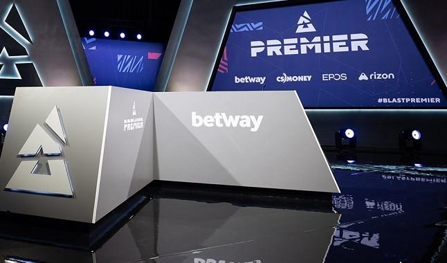 Betway y Blast Premier mantendrán su asociación en la liga de eSports