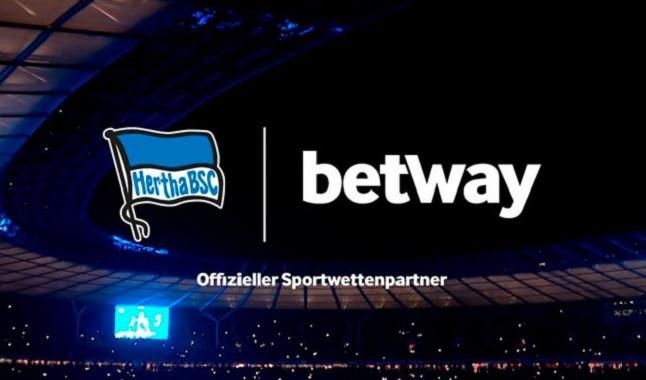 Betway concreta asociación con el Hertha Berlín