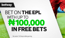 Betway: Up to 100,000₦ Welcome Bonus