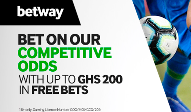Betway First Deposit Bonus
