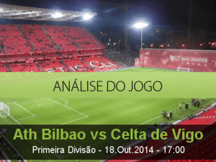 Análise do jogo: Atlético de Bilbao vs Celta de Vigo (18 Outubro 2014)