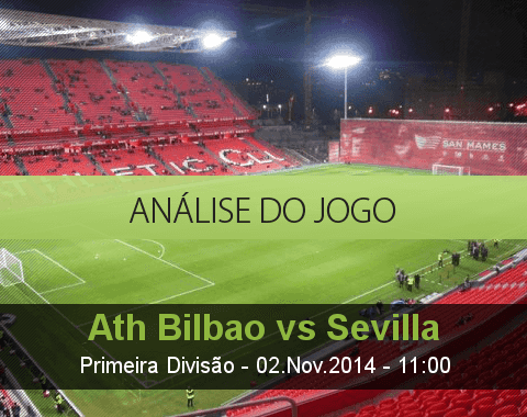 Análise do jogo: Atlético de Bilbao vs Sevilla (2 Novembro 2014)