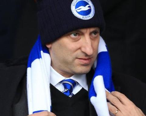Bloom: o milionário das apostas que ajudou o Brighton