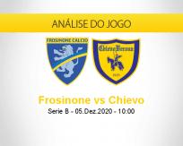 Prognóstico Frosinone Chievo (05 dezembro 2020)