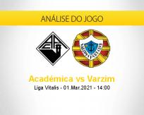 Prognóstico Académica Varzim (01 março 2021)