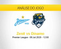 Prognóstico Zenit St Petersburg Dinamo St. Petersburg (08 julho 2020)