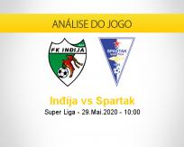 Inđija vs Spartak Subotica