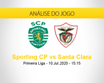 Prognóstico Sporting Santa Clara (10 julho 2020)