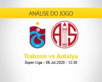 Prognóstico Trabzonspor Antalyaspor (08 julho 2020)