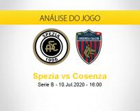 Prognóstico Spezia Cosenza (10 julho 2020)